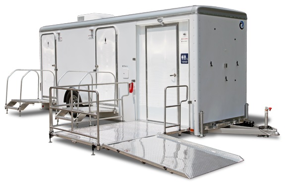 ADA Handicapped Restroom Trailer Rentals in Florida