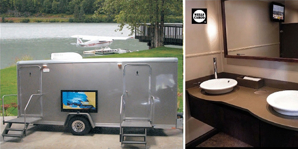 Largest Bathroom Trailer Rentals in Florida For Hundres of People