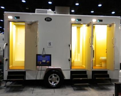 Cheapest, Most Affordable Restroom Trailer Rentals & Porta Potty Rentals in Florida.
