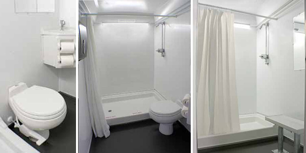 Long Term Bathroom/Shower Trailer Rentals in Florida With Heating & Air Conditioning